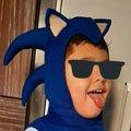 Chapeu  Sonic Infantil