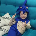 Fantasia do Sonic Infantil
